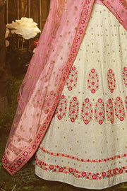 Beautiful Antique White Lehenga