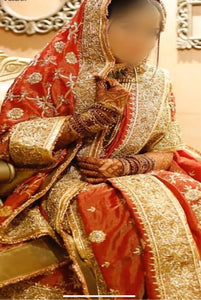 Exclusive Tissue bridal Khadadupatta