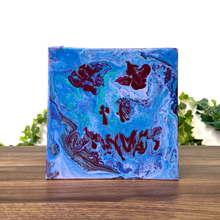 "Load image into Gallery viewer, ""Ahead of Yourself"" Silicone Acrylic Fluid Painting"
