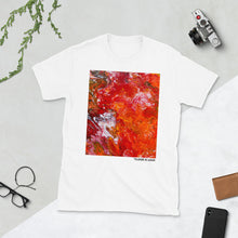 "Load image into Gallery viewer, ""Floor Is Lava"" White T-Shirt"