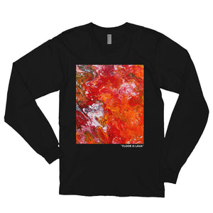 """Floor Is Lava"" Long Sleeve Shirt"