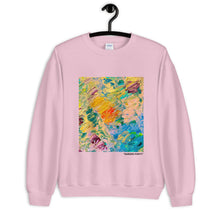 "Load image into Gallery viewer, ""Garden Party"" Pink Unisex Crewneck"