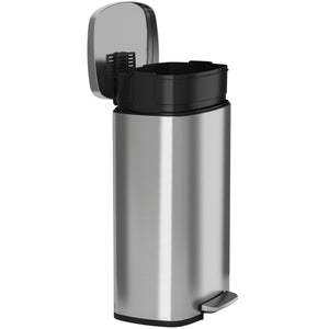 SoftStep™ 30 Liter Stainless Steel Step Trash Can