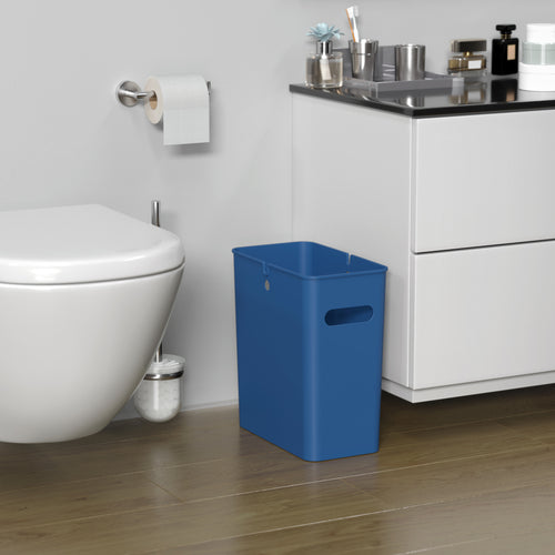 4.2 Gallon / 16 Liter SlimGiant Blue Wastebasket