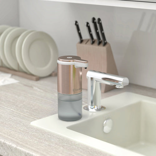 Ultraclean Rose Gold Sensor Foam Soap Dispenser
