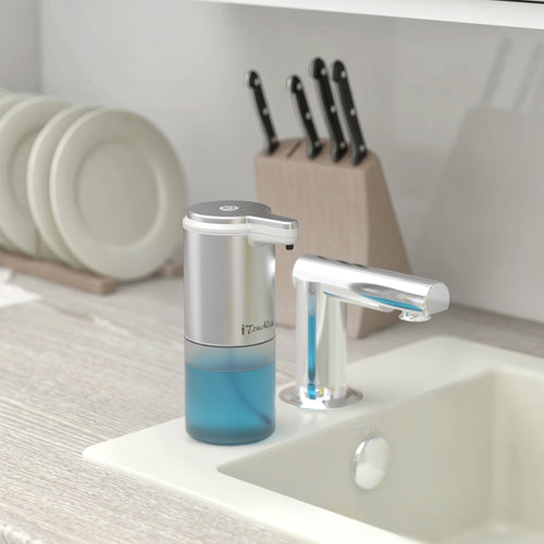 iTouchless Ultraclean Stainless Steel Sensor Foam Soap Dispenser