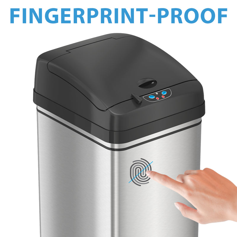 13 Gallon Pet-Proof Sensor Trash Can