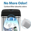 AbsorbX® Compact Odor Filter for 2.5 and 4 Gallon Trash Cans (1 pc) *Proof of Purchase Required