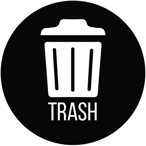 Trash Decal (1 pc) *Proof of Purchase Required