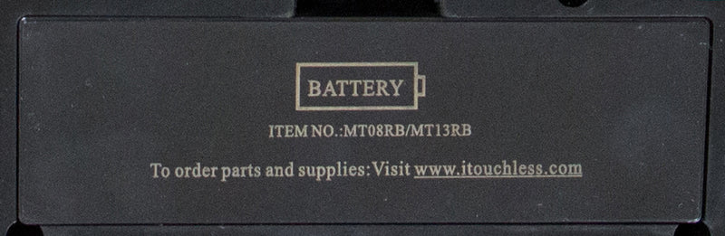 Battery Cover of Multifunction 8 and 13 Gallon Black Sensor Can