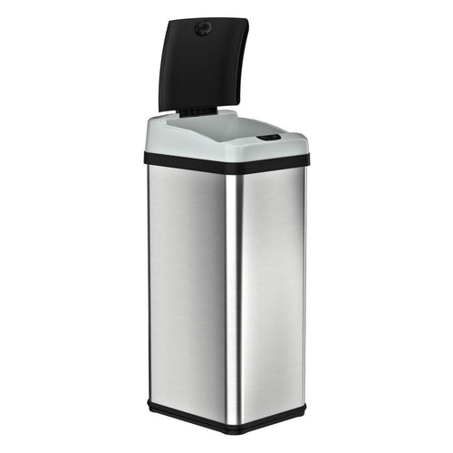 Rectangular Extra-Wide Sensor Trash Can Combo Deal