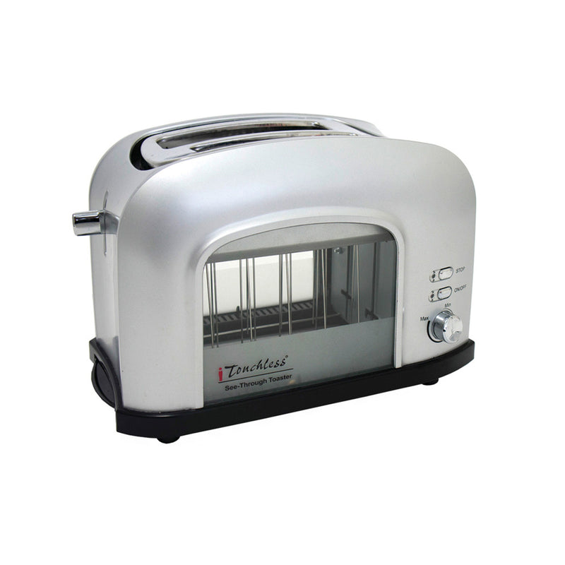 SILVER See-Through Toaster