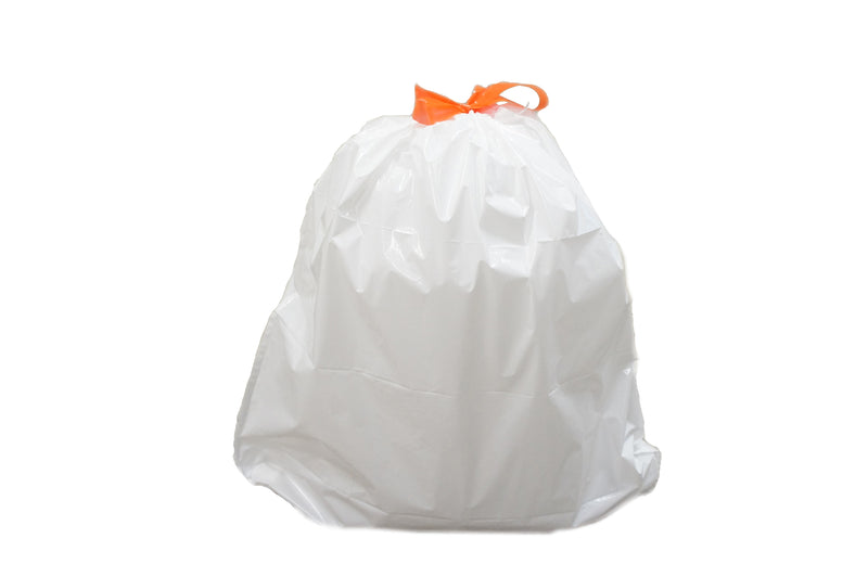 40 Premium TRASH BAGS for 14 Gallon Can