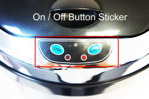 On / Off Button Sticker