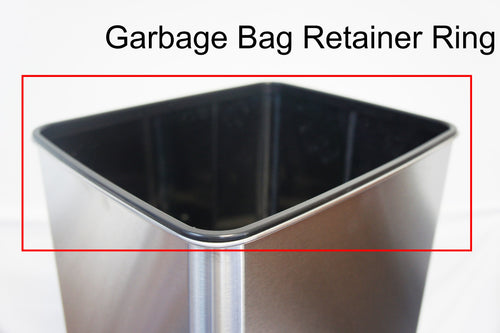 Garbage Bag Retaining Ring (only for trash can with blue OPEN/CLOSE buttons) of IT14SB, IT14SC and IT14SW