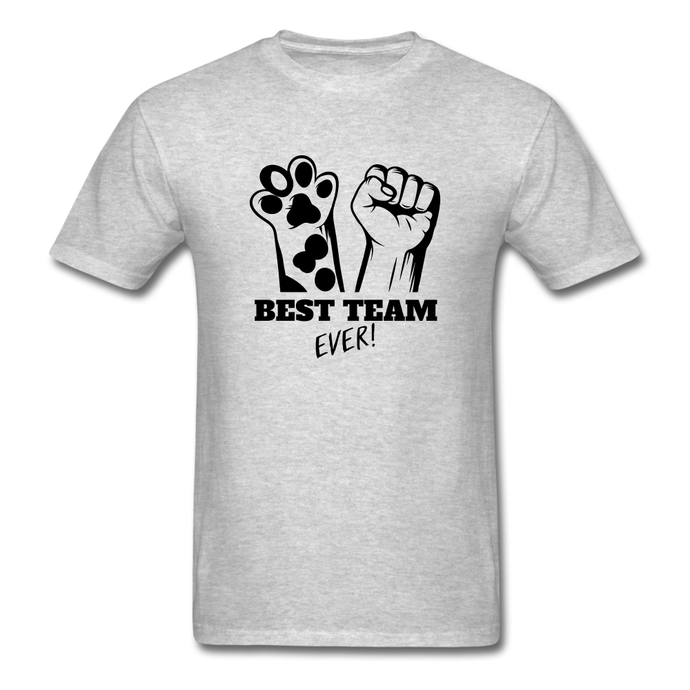 Best Team - heather gray