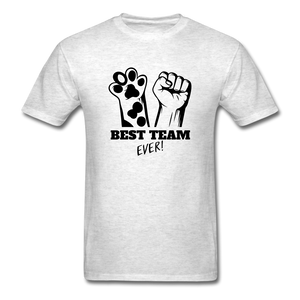 Best Team - light heather gray