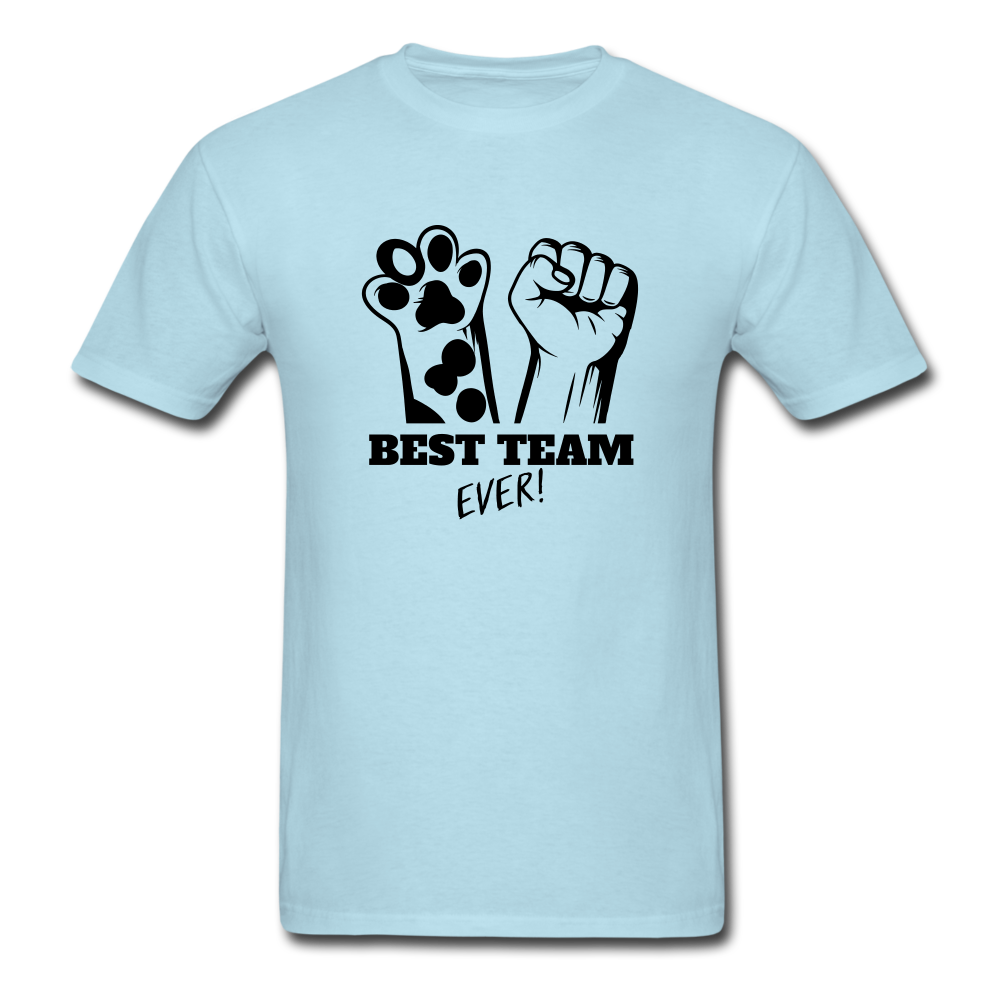 Best Team - powder blue