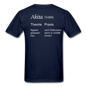 Definition Akita - navy