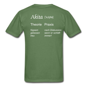 Definition Akita - military green