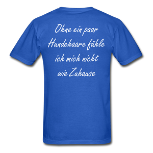 Hundehaare - royal blue