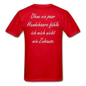 Hundehaare - red