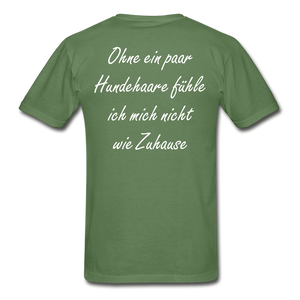 Hundehaare - military green