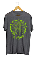 Bend Beer Map T-Shirt