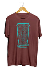 Seattle Coffee Map T-Shirt