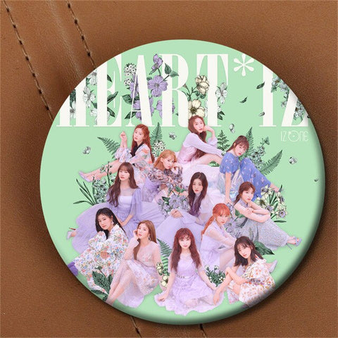 Izone HeartIZ Pin Badges (FREE)