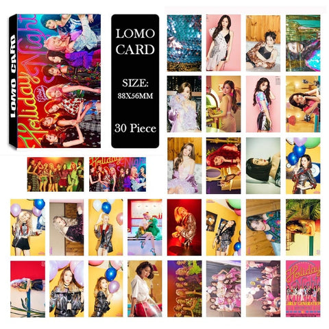 Girls Generation Holiday Night Lomo Cards (FREE)