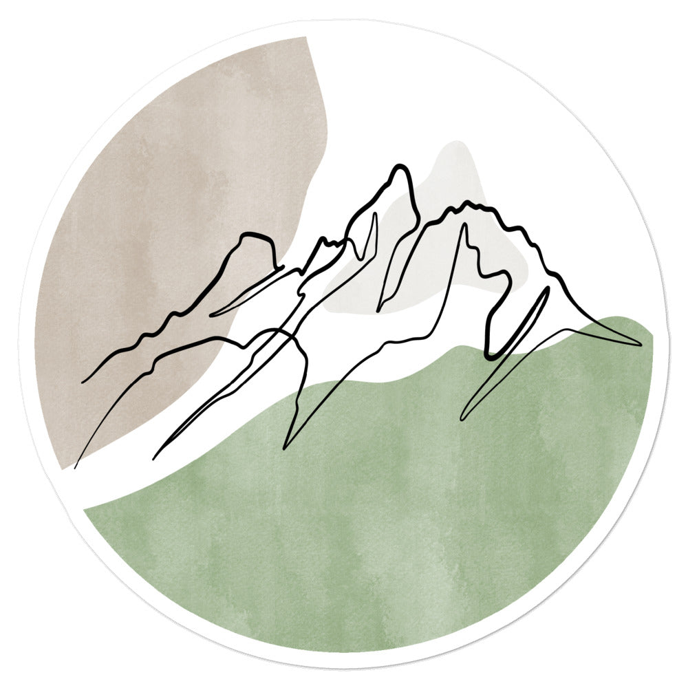 Grand Teton Sticker