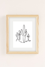 Load image into Gallery viewer, Saguaro B&W