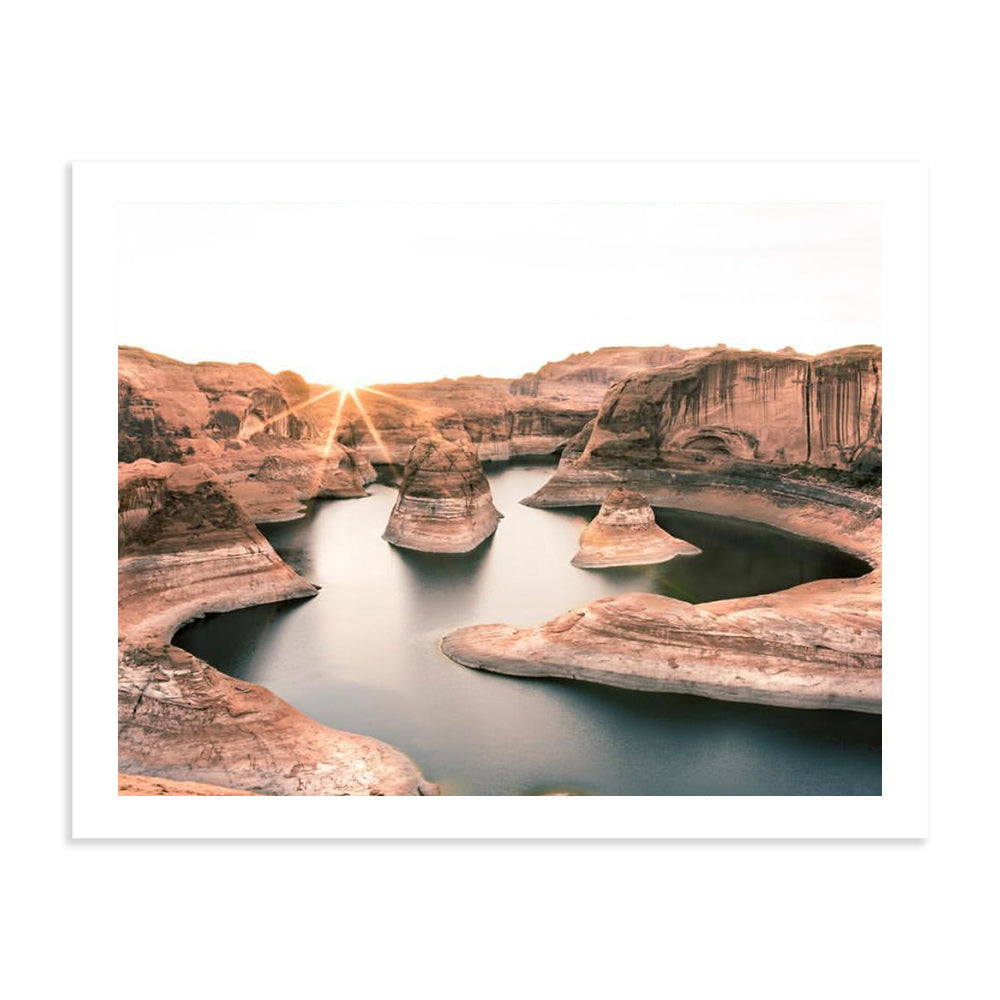 Reflection Canyon Sunrise