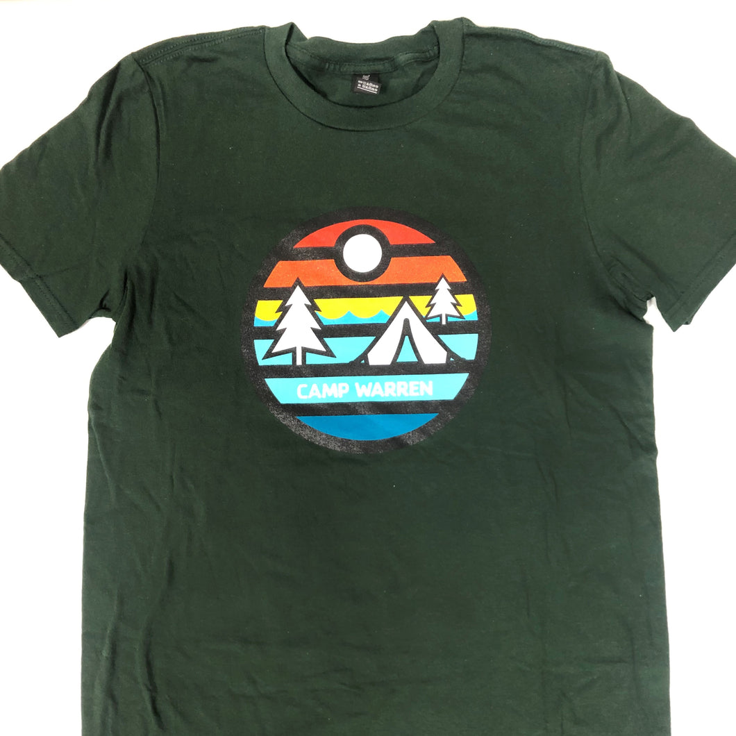Forest Green Sunset TShirt