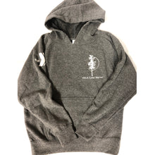 Load image into Gallery viewer, Youth Gray Hooded Sweatshirt