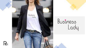 T-shirt Business Lady