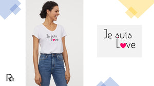 T-shirt Je suis love