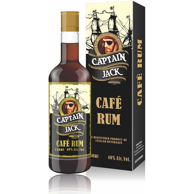 Captain Jack Rum 75cl