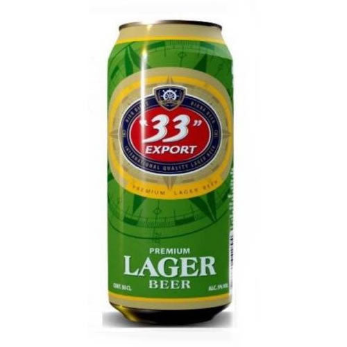 """33"" Export Lager Beer Can 33cl"