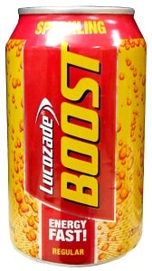 Lucozade Boost Sparkling Can 33