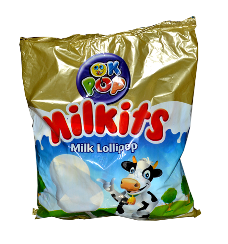 OK Pop Milkits Lollipop *50