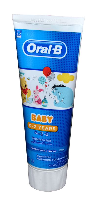Oral-B Baby 0-2Years 75ml