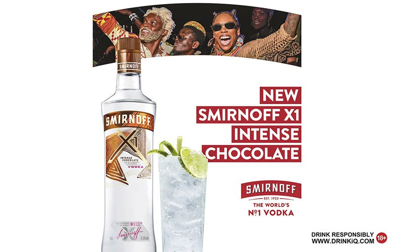 Smirnoff X1 Intense Chocolate Vodka