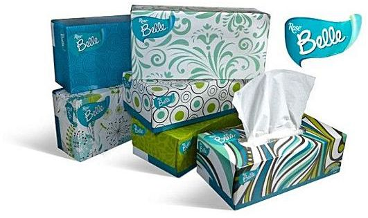 Rose Belle BOX Tissue 2Ply