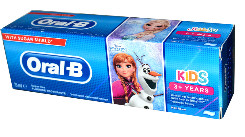 Oral-B Kids 3+ Years 75ml