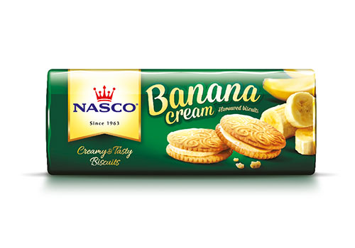Nasco Banana Cream Biscuit