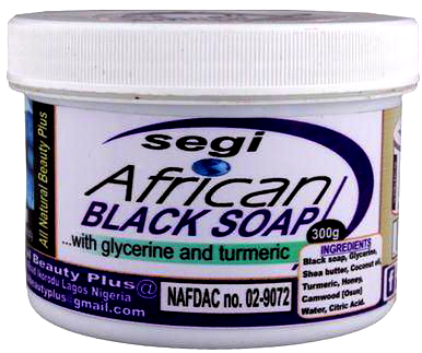 Segi African Black Soap 300g