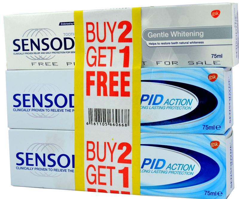Sensodyne Rapid Action Combo