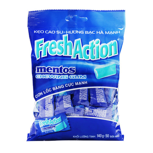 Mentos Fresh Action Gum 110g